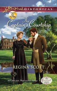 The Captain's Courtship by Regina Scott