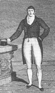 picture of famous Regency boxer Gentleman Jackson