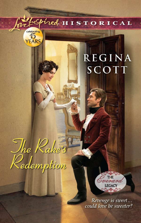 cover of The Rake's Redemption, a Christian romance by Regency author Regina Scott