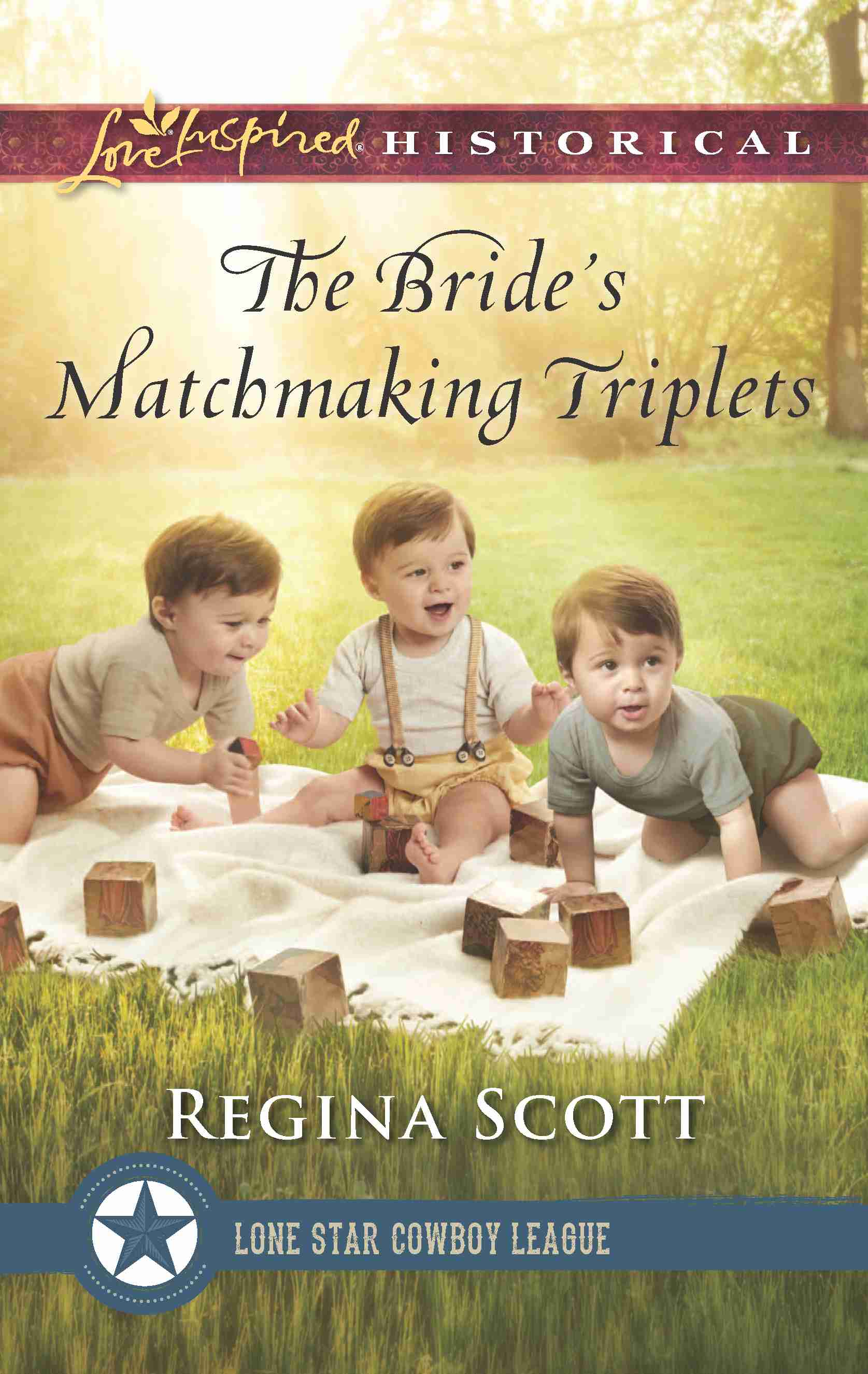 Cover for The Bride's Matchmaking Triplets by historical romance author Regina Scott