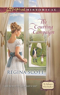 Cover for The Courting Campaign by Regina Scott