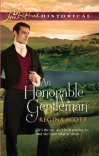 Cover for An Honorable Gentleman by Regina Scott