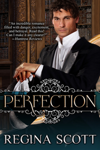 e-book cover for Perfection by Regina Scott