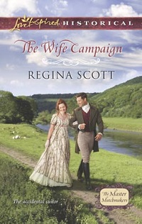 Cover for The Wife Campaign by Regina Scott
