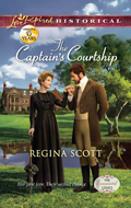 The Captain's Courtship by Regina Scott, book 2 in the Everard Legacy series