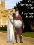 e-book cover of The Marquis' Kiss by Regina Scott